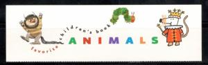 3987 Children's Book Animals Panel (No Stamps) Mint/nh FREE SHIPPING