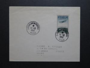 French Morocco SC# CB35 First Day Cover to France - Z8662