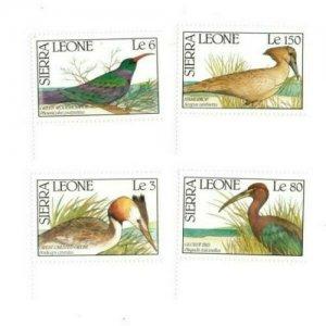 Sierra Leone MNH 1233-6 Birds