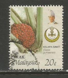 Malaya-Perak   #165c  used  (1986)  c.v. $0.45