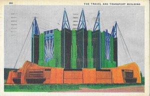 1933 Chicago World's Fair (Century of Progress) - Travel & Transport Building