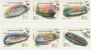 Malagasy Republic 1994 Modern Ships 6 Value Used 11892
