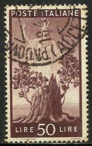 Italy 1945 Scott# 476 Used