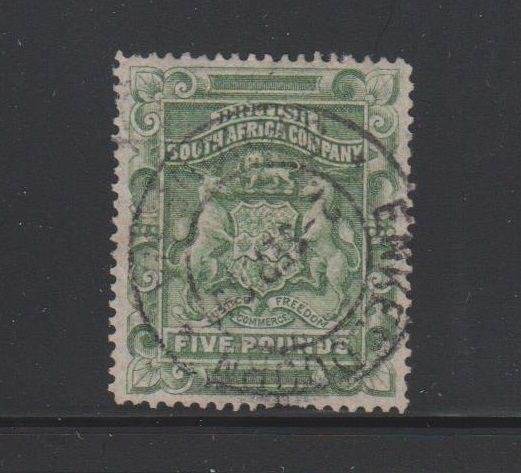 Rhodesia Scott # 18 VF Used neat CDS cancel nice color cv $ 500 ! see pic !