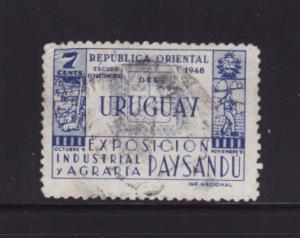 Uruguay 565 U Coat of Arms of Paysandu (B)
