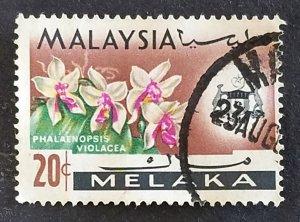 Malaysia Malacca #73 Used F-VF CV $1.00