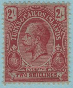 Turks & Caicos Inseln 34 Postfrisch mit Scharnier Og - keine Fehler Sehr Fein