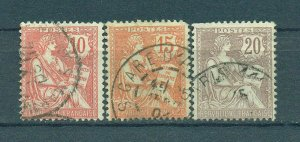 France sc# 133-137 used cat value $32.25
