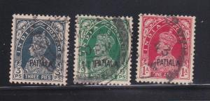 India Patiala 98, 100-101 U King George VI