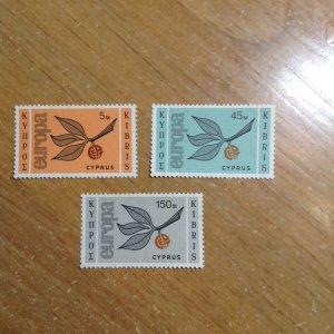 Cyprus  # 262-64  MNH
