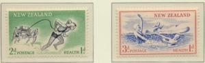 New Zealand Stamps Scott #B52 To B53, Mint Hinged - Free U.S. Shipping, Free ...