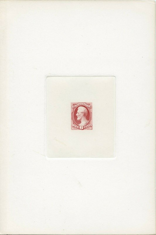 #159P1 SUPERB LARGE DIE PROOF FULL SIZE PINK (DFP 4/8/20)