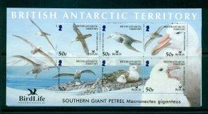 Br. Antarctic Terr. - Sc# 349. 2005 Birds. Souvenir Sheet. MNH $25.00.