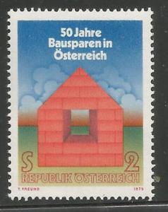 AUSTRIA, 1026, MNH, SYMBOLIC HOUSE