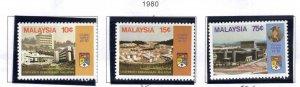 Malaysia Scott 210-212 MNH** University set