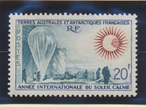 French Southern and Antarctic Territories Stamp Scott #24, Mint Hinged - Free...