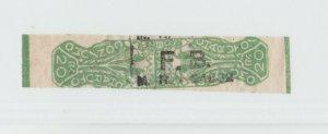 Brazil fiscal revenue taxpaid Stamp 5-4-21 Tobacco