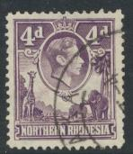 Northern Rhodesia  SG 36 SC# 36 Used - see details