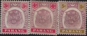 Malaya-Pahang 1893--1899 SC 14-25 Mint SCV$ 85.95 Set