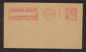 1966 Great Britain Boy Scout meter Birmingham Annual Rally Handsworth Park