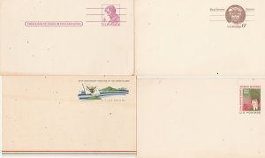 United States prepaid postcards mint