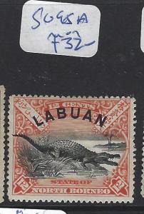 LABUAN  (P2010B)   12C  CROCODILE   SG 95A     MOG