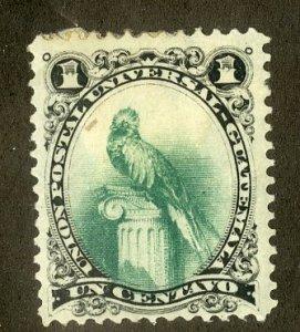 GUATEMALA 21 MH SCV $6.00 BIN $2.50
