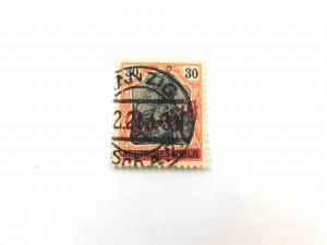 Danzig #40 Used/Fine, Danzig Overprint, nice Town cancel, 30pf
