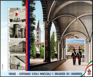2021 Italy Carabinieri School SS  (Scott NA) MNH