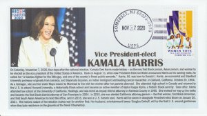 6° Cachets 5523 Kamala Harris Vice President-elect 2020 Election women vote