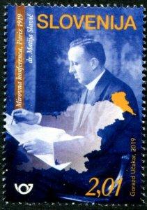 HERRICKSTAMP NEW ISSUES SLOVENIA Centenary Unification of Prekmurje
