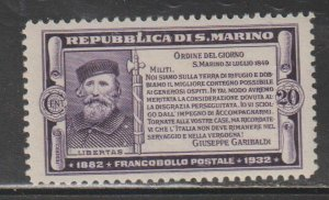 San Marino   SC  144  Mint  Hinged