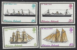 1975 Pitcairn Islands 147-150 Ships with sails 8,00 €