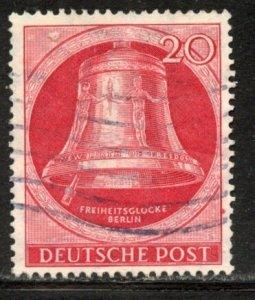 Berlin # 9N72, Used. CV $ 18.00