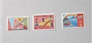Trinidad and Tobago - 183-85, MNH Set. UN, 25th Anniversary. SCV - $1.50