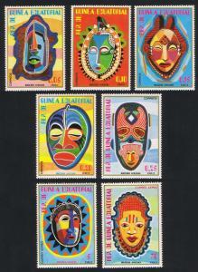 Eq. Guinea African Masks 7v