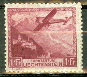 Liechtenstein C6 MNH CV $165