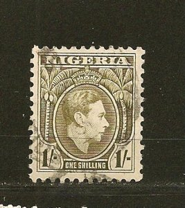 Nigeria 61 King George VI Used