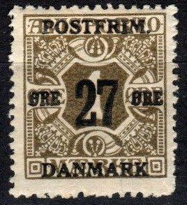 Denmark #145  F-VF Unused CV $5.00 (X5367)