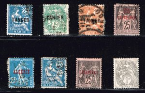 FRANCE Morocco STAMP USED STAMPS COLLECTION LOT #1