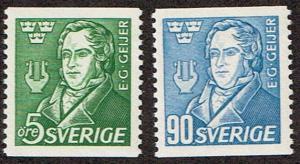 Sweden # 383 - 384 LH