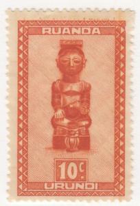 Ruanda Urundi, Scott # 90, MNG, 1948