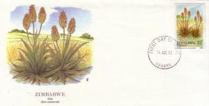 Zimbabwe FDC SC# 560 Aloe Vera L406