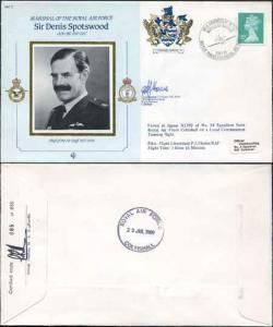 CDM17a RAF COMMANDER Denis Spotswood Gp Capt Hoare and Gp Capt Randle (A)