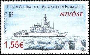 2020 FSAT The Nivose - Ship Series (Scott NA) MNH