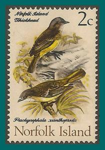 Norfolk Island 1971 Birds 3, Golden Whistler, MNH #127,SG104