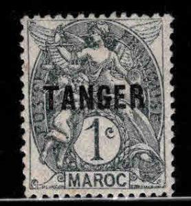 French Morocco Scott 72 MH* TANGER overprint stamp