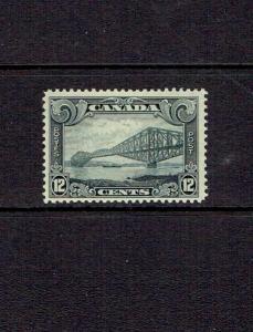 CANADA 1928 TWELVE CENT KING GEORGE V SCROLL ISSUE - SCOTT 156 -  MNH