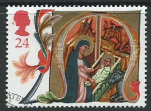 GB  QEII  SG 1583 Christmas  VFU Bureau Cancel