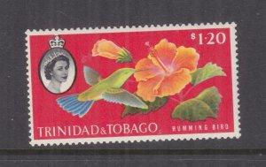 TRINIDAD & TOBAGO, 1960 Hummingbird, $ 1.20, lhm.